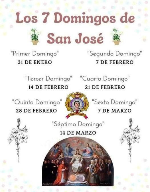 Los 7 Domingos de San José