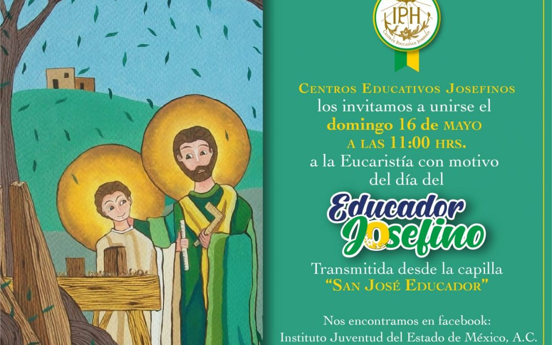 Invitación a la Eucaristía con motivo del educador Josefino.